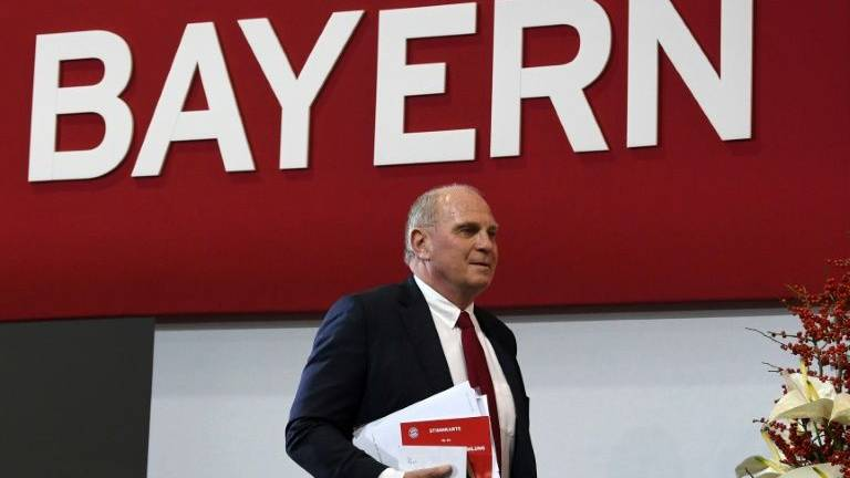 Hoeness confirms he will step down as Bayern president