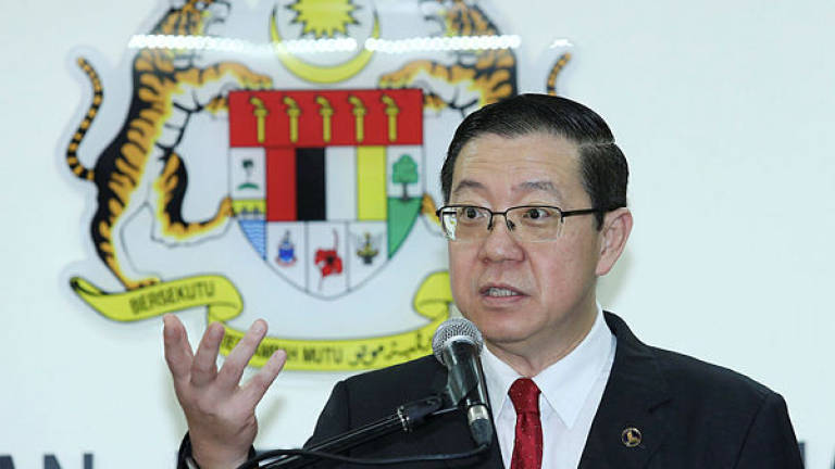 "Lim says mainstream media ""glossing over"" 1MDB scandal"