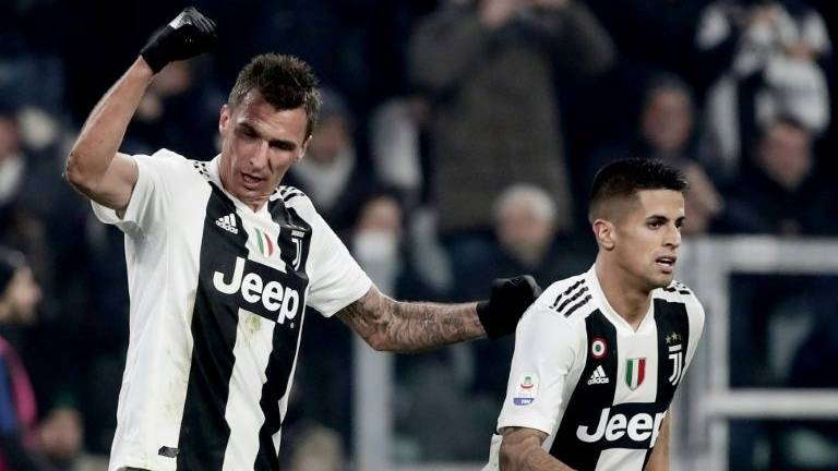 Mandzukic scores as Juve defeat Inter Milan