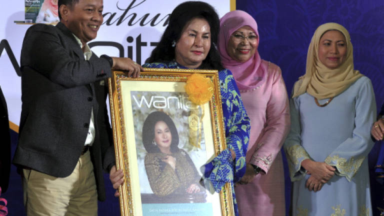 Malaysia exceeds target on women as decision makers: Rosmah