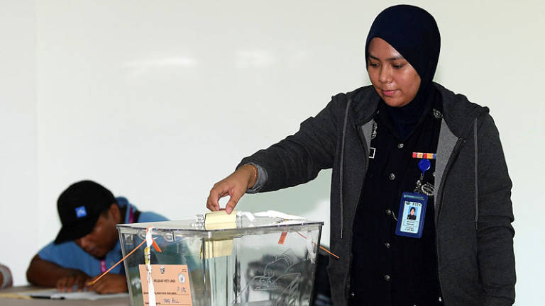 Go to the polls early, EC Chief tells Sandakan voters