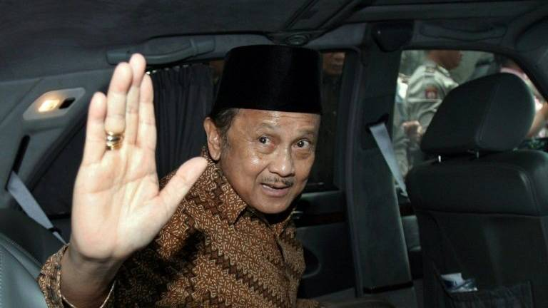 Former Indonesian president Habibie dies at 83