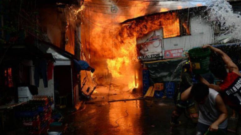 Six stalls and a car destroyed in Taman Keramat Fire