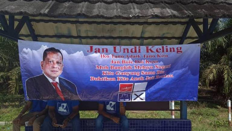 Streram expresses regrets over provocative 'Don't vote keling' banners in Rantau