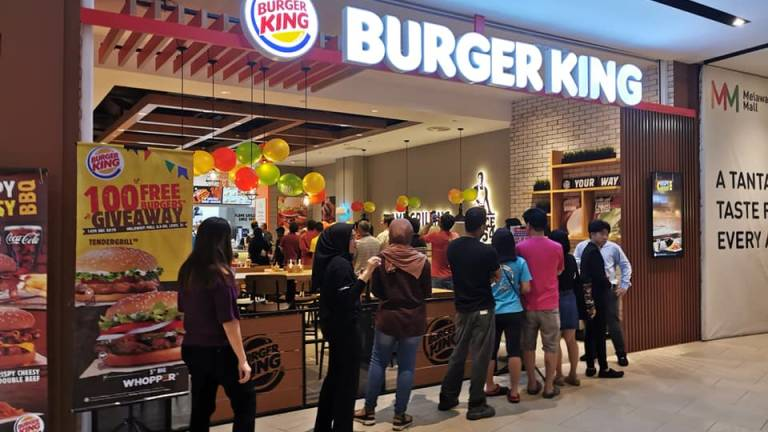 Burger King Malaysia to open 50 new outlets in 2 years