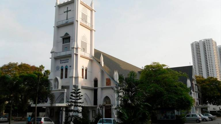 Penang church open for Mass tomorrow, first time in 3 months