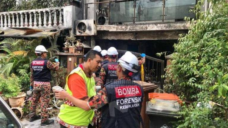 Three in family killed in house fire in Petaling Jaya (Updated)