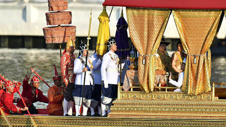 Thousands gather for glimpse of Thai king at final coronation event