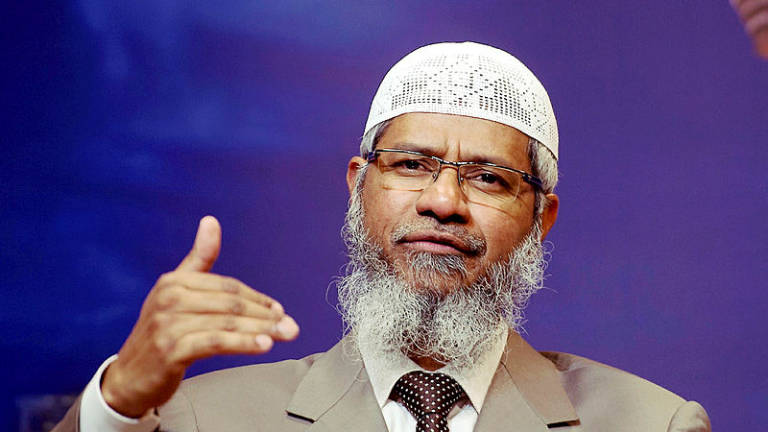 Wisma Putra to send official letter to India on Zakir Naik issue