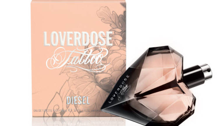Diesel unveils new variation on Loverdose Tattoo