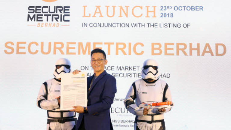 Securemetric eyes RM17 million from IPO