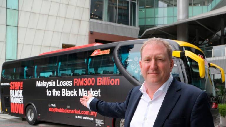 BAT Malaysia hits the streets with 'Stop The Black Market' bus