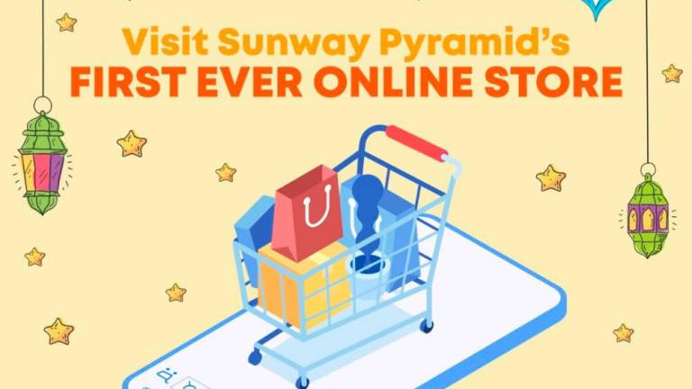 Sunway Pyramid online platform lets shoppers shop in ease and safety