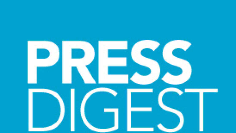 Press Digest - Chinese Embassy rebuts Muhyiddin's allegations