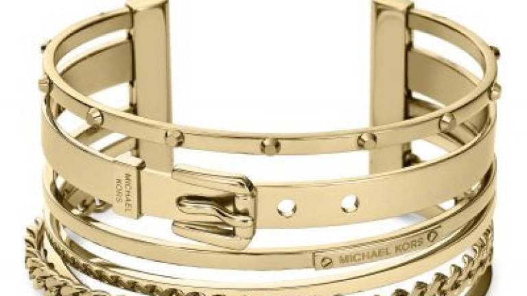 fd777f26958ce Michael Kors presents latest women's jewellery and watch collection