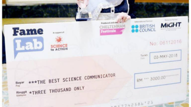 USM lecturer named World's Best Science Communicator