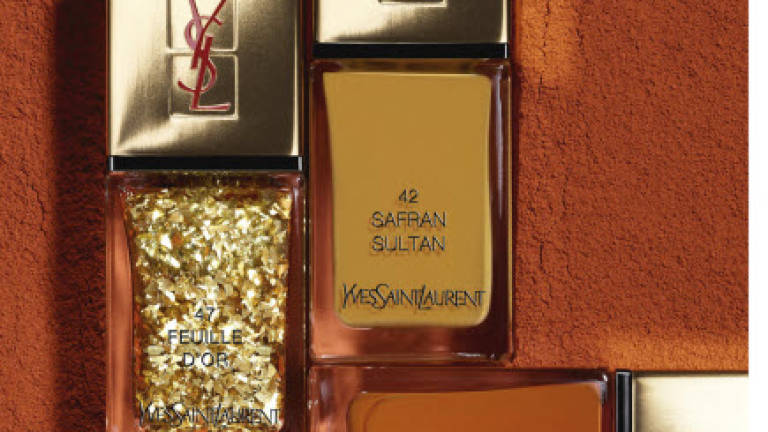 Yves Saint Laurent nail polish collection inspired by North African ...