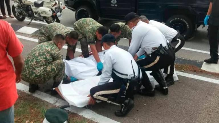 Army corporal dies in freak highway accident