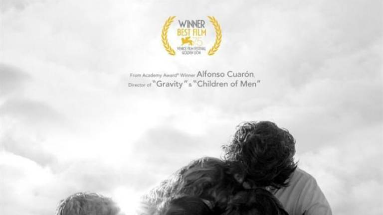 One of the most buzzed-about films is Roma from Alfonso Cuaron – a black and white ode to his childhood in 1970s Mexico City that took home two Golden Globes, including best director. Courtesy of Netflix