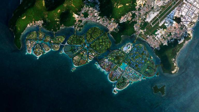 Penang south reclamation project expected to start in May or June