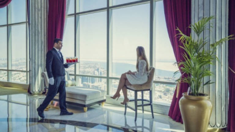 How to visit a US$40,840 suite in Abu Dhabi without breaking the bank
