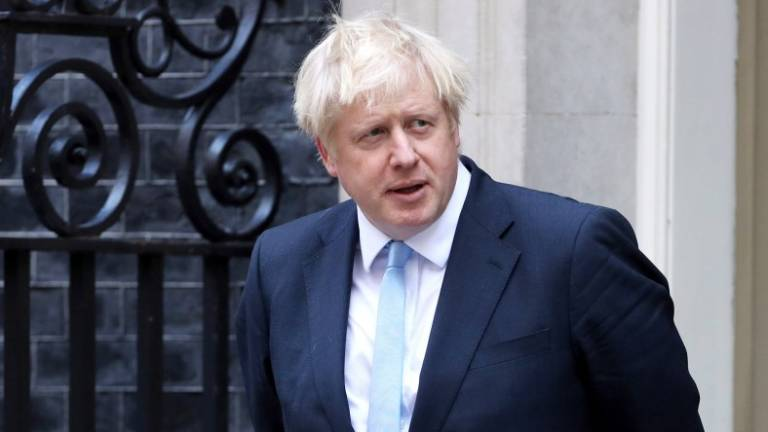 UK's Johnson to meet EU's Juncker on Monday for Brexit talks