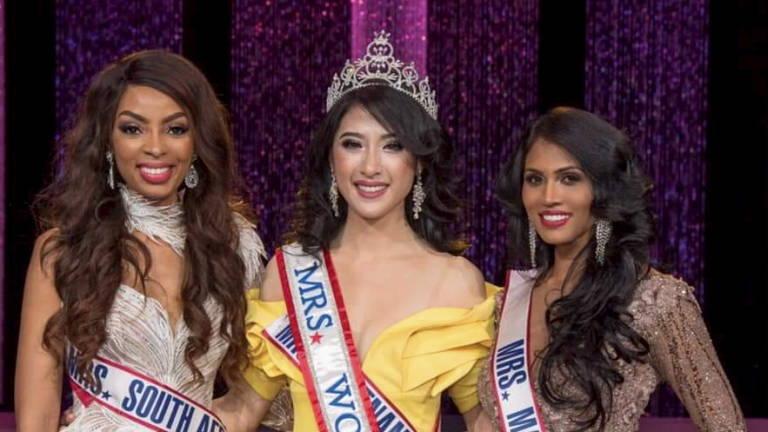 Malaysian a winner at Mrs World 2019 pageant