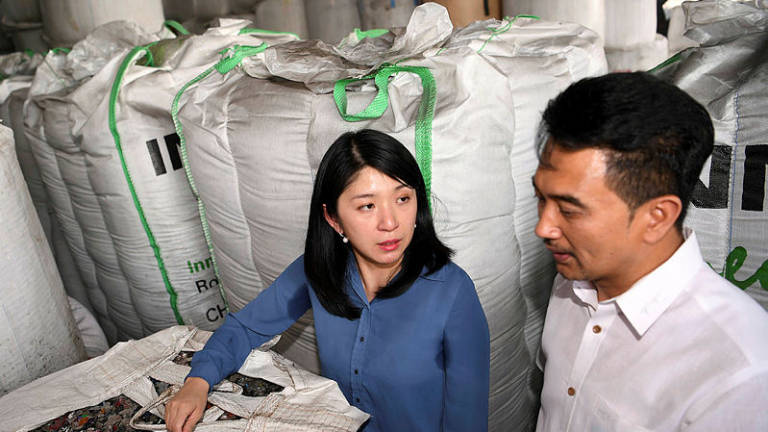 Yeoh vows to end illegal plastic waste recycling factories