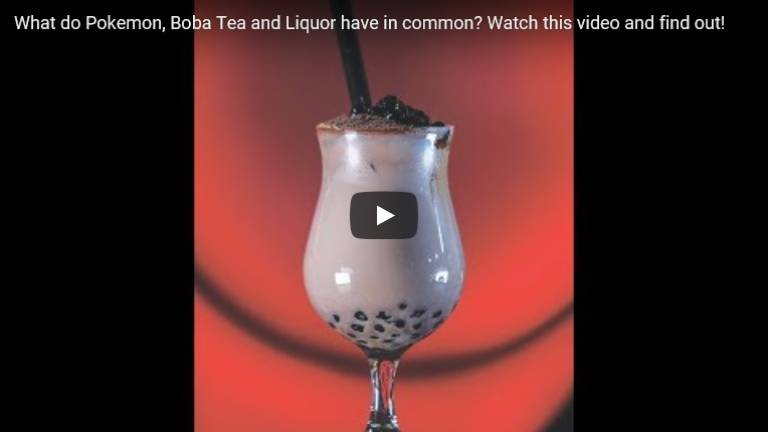 What do Pokemon, Boba Tea and Liquor have in common? Watch this video and find out!