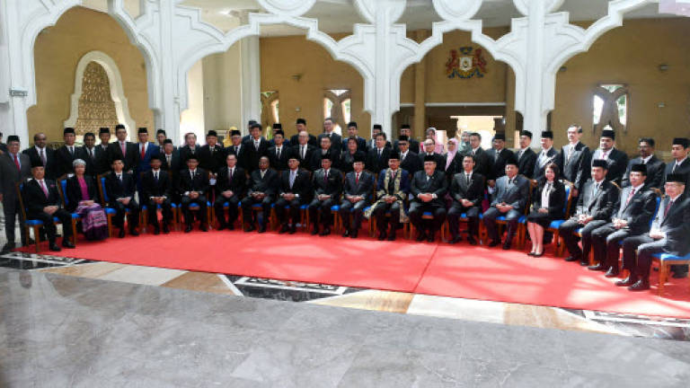 56 Johor assemblyman sworn in today