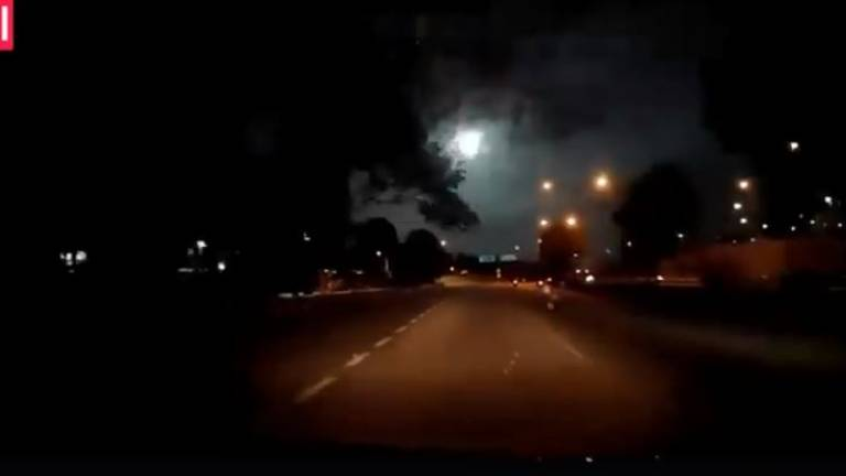 (Video) Fireball spotted in Johor, S'pore skies