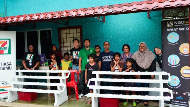 7-Eleven Malaysia sets up hydroponic system at Trinity Children's Home
