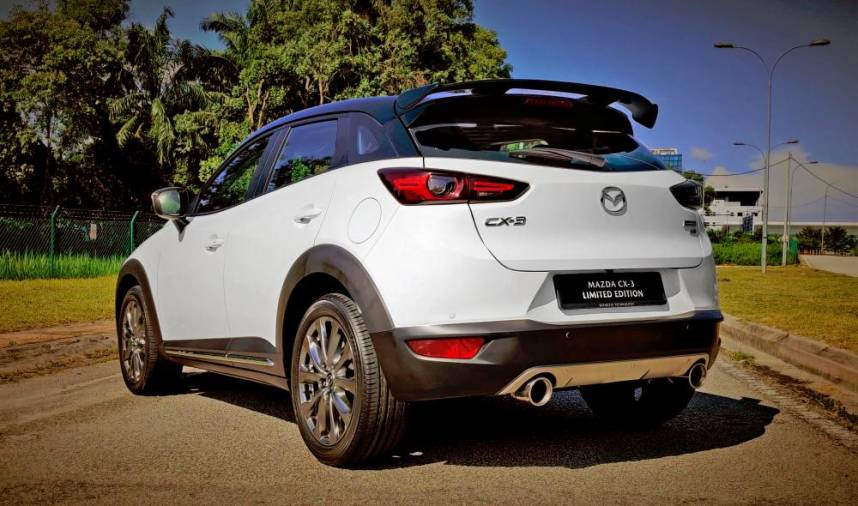 Celebrating a century of Mazda: CX-3 Limited Edition
