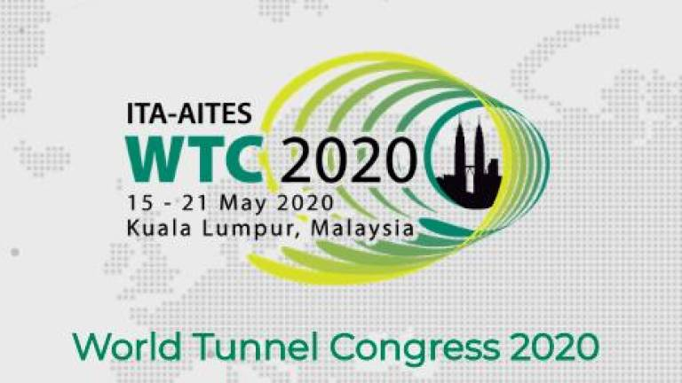 Malaysia to plays host to prestigious World Tunnel Congress 2020