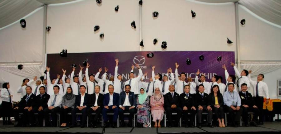 $!126 graduate from Mazda Training Centre