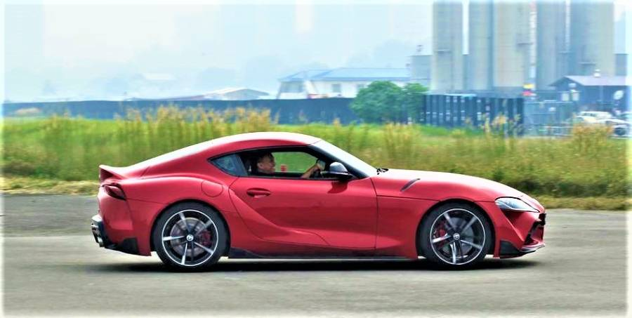 $!Fifth-generation Toyota Supra blasts into Malaysia