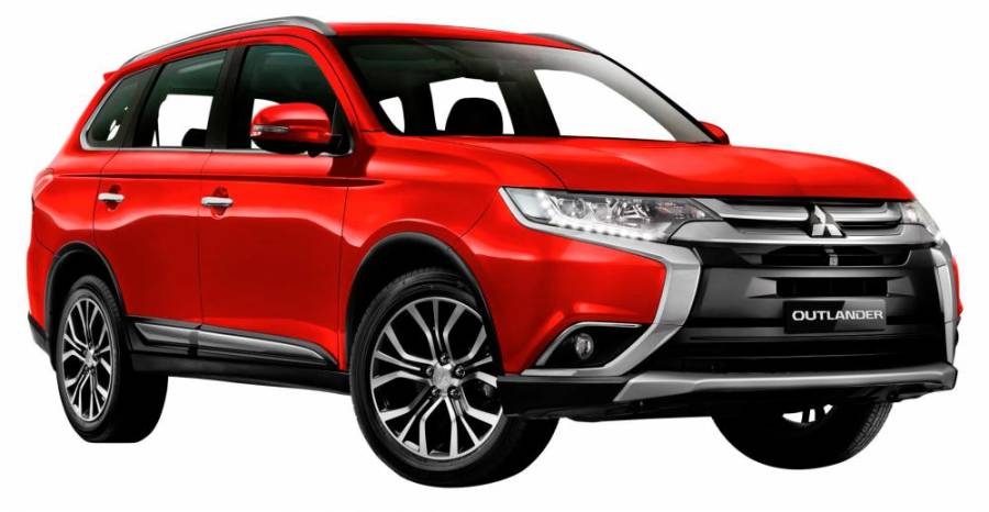 $!The Outlander comes with cash rebate of up to RM6,000.