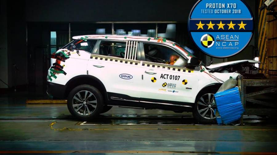 Milestone #8: The X70 received a five-star Asean NCAP rating, making it one of the safest vehicles in its class.