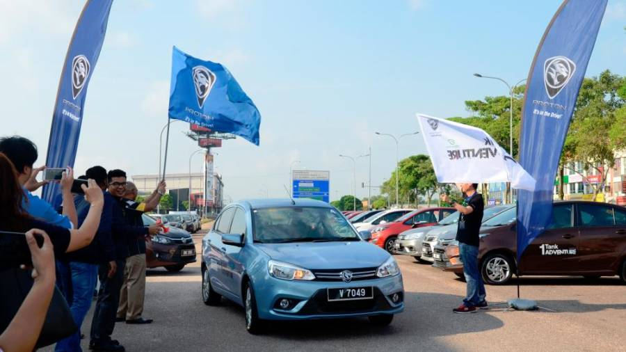 "Milestone #3: On July 17, the ""Proton 1-Tank Adventure"" was held, involving Iriz, Persona and Saga owners to compete alongside media members and key opinion leaders to explore the delights of various Malaysian states using a single tank of fuel."