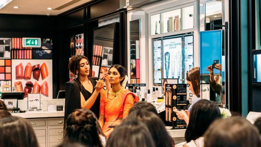 Vithya Hair and Makeup MasterClass with Bobby Brown UK. – COURTESY OF VITHYA VISVENDRA