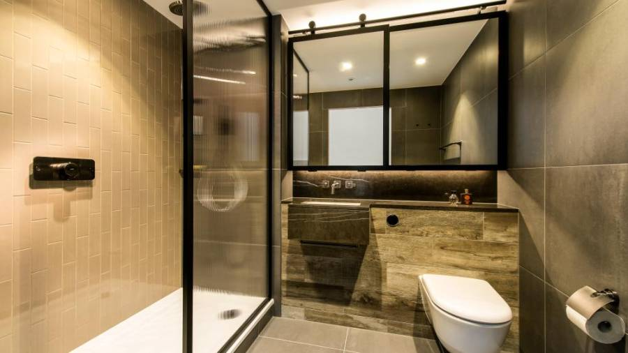 Bathroom pods come complete with the required electrical, plumbing and ventilation connections, besides waterproofed walls, floors, fittings and quality finishes.