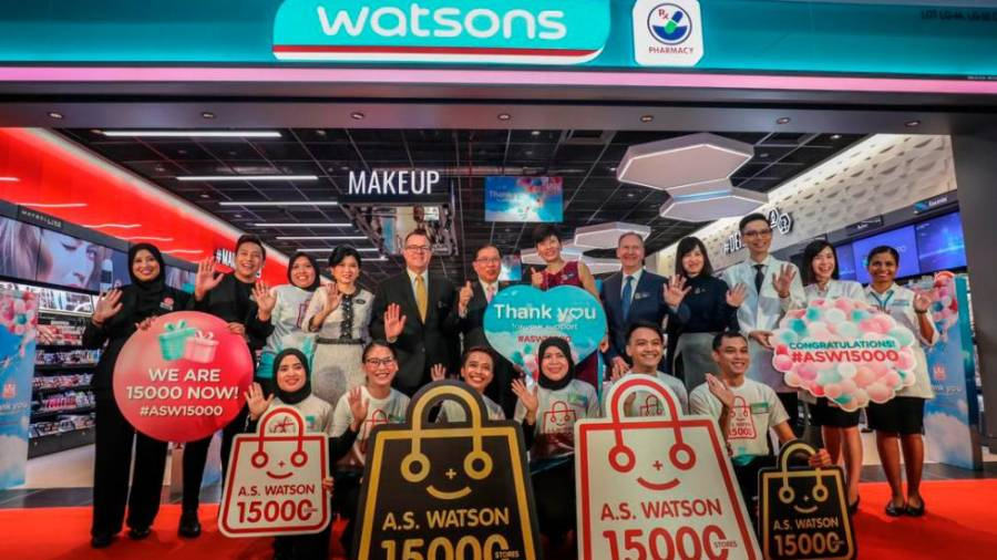 A Milestone achieved ... Watsons continue to go from strength to strength.
