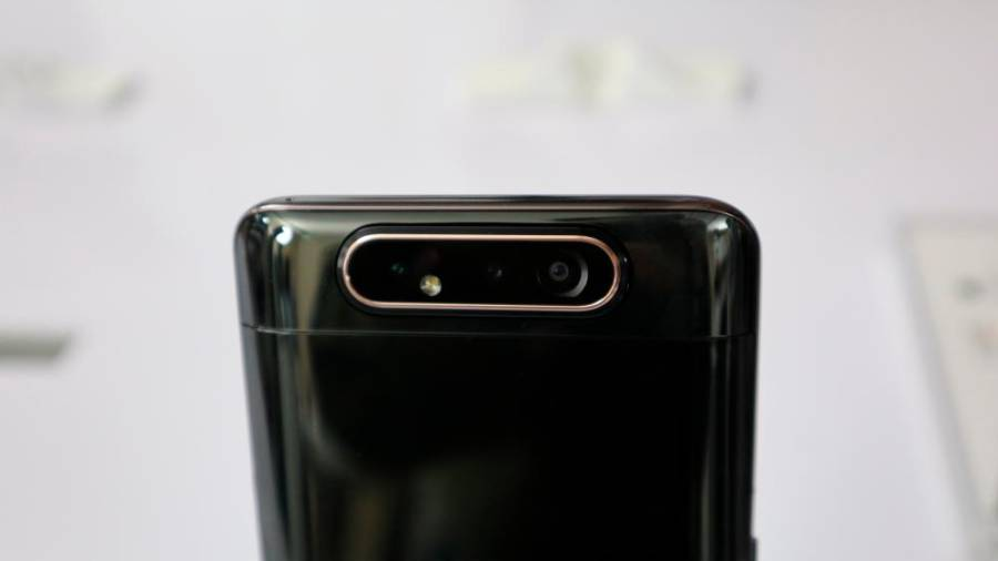 No notches or punch holes in the Galaxy A80
