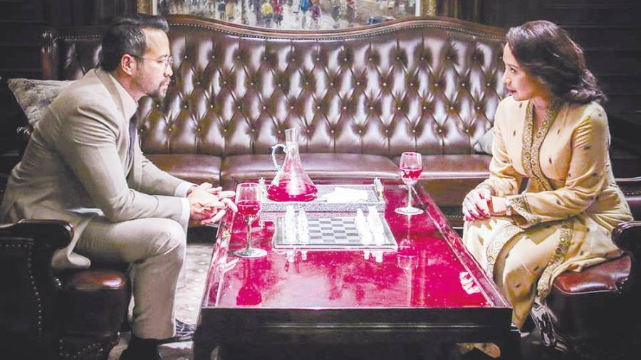 A scene from Daulat, a political thriller starring Tony Eusoff (left) and Vanidah Imran. – Lacuna Pictures