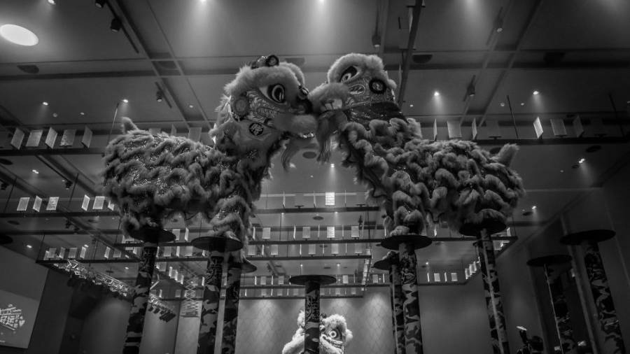 The Lion Dance is part of Chinese folklore.