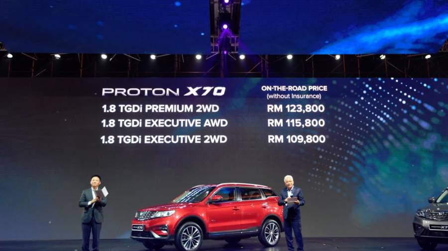 Milestone #1: The busy 2018 was ended with the launch of the Proton X70.