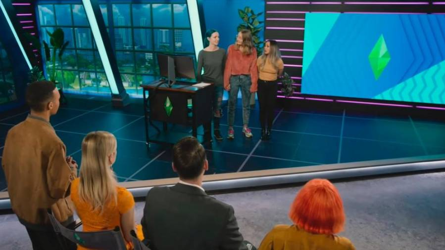 The Sims 4 reality show pit contestants for the best stories in-game
