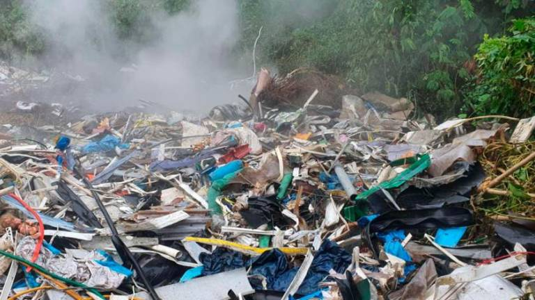 Incidence of fire at recycling plants spikes during MCO, causing health hazards from toxic fumes