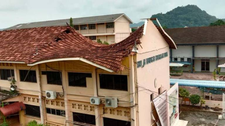 Roof of 71-year-old school building collapses
