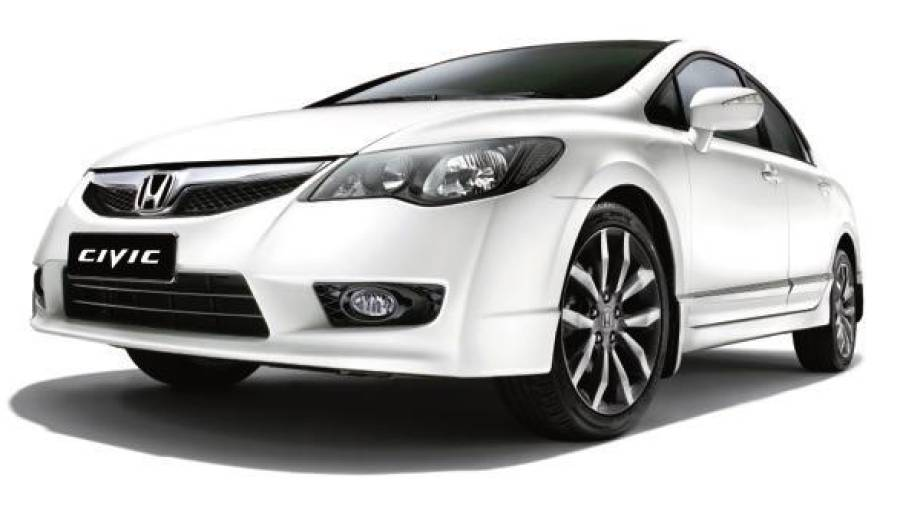 The Civic is one of the affected models of the Takata front airbag inflator replacement exercise.